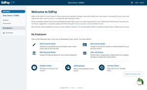 edpay - welcome screen 04 Sept 2019